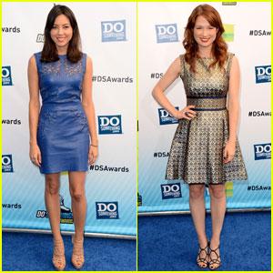 Aubrey Plaza & Ellie Kemper - Do Something Awards 2012