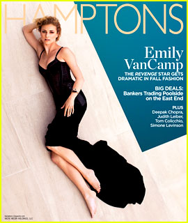 Emily VanCamp Covers 'Hamptons' Magazine September 2012