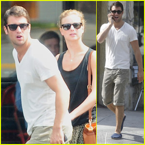 Emily VanCamp & Josh Bowman: Little Dom's Brunch!