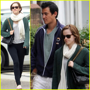 Emma Watson & Will Adamowicz: London Lovers