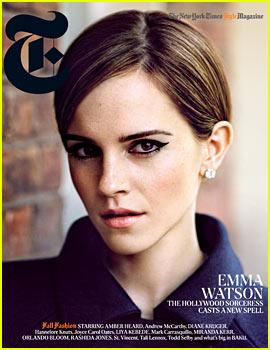 Emma Watson Covers 'T' Magazine Fall 2012