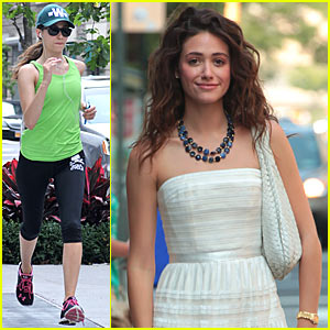 Emmy Rossum: 'Catch' Me If You Can!