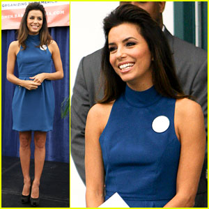 Eva Longoria Supports Obama at Florida Women's Summit