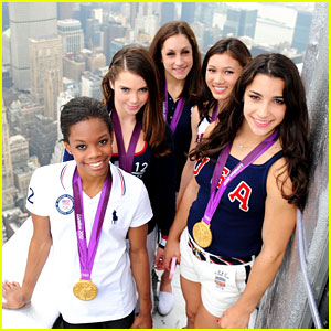 Fierce Five Light Up Empire State Building