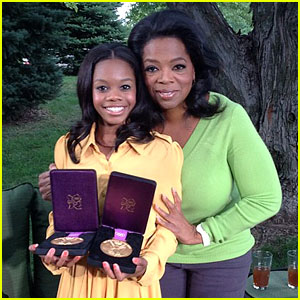 Gabby Douglas: 'Oprah's Next Chapter' Sneak Peek!