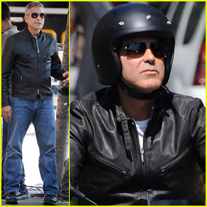 George Clooney: Commercial Filming Continues!