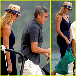 George Clooney & Stacy Keibler: Lake Como Lovers!