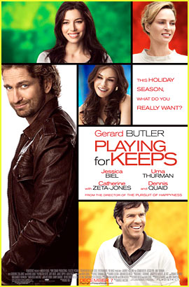 Gerard Butler: 'Playing For Keeps' Trailer, Poster, & Stills!