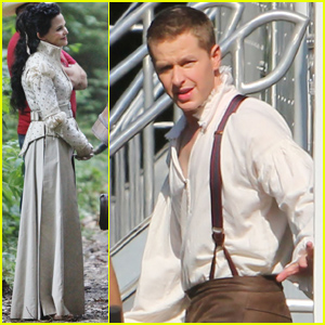 Ginnifer Goodwin & Josh Dallas: Costumes for 'Once Upon A Time!'