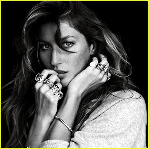Gisele Bundchen: David Yurman Fall 2012 Campaign Pics!