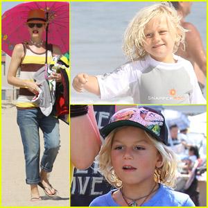 Gwen Stefani: Umbrella in Orange County!