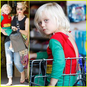 Gwen Stefani: Birthday Shopping Spree with Zuma!