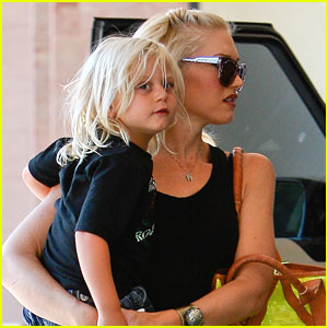 Gwen Stefani: West Hollywood with Zuma!
