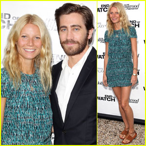 Jake Gyllenhaal & Gwyneth Paltrow: 'End of Watch' Screening!