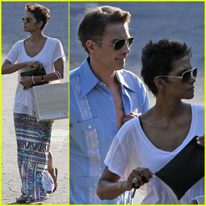 Halle Berry & Olivier Martinez: Studio City Shopping Spree!