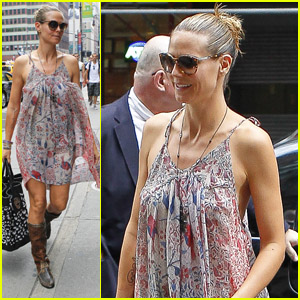 Heidi Klum: Back to Running!