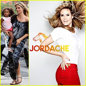 Heidi Klum: Jordache Campaign Revealed!