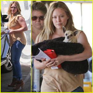 Hilary Duff: Vet Visit with Lola!