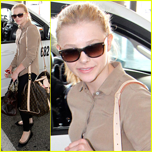 Chloe Moretz: Back in Toronto to Finish 'Carrie'!