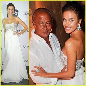 Irina Shayk: Fawaz Gruosi's 60th Birthday Bash!