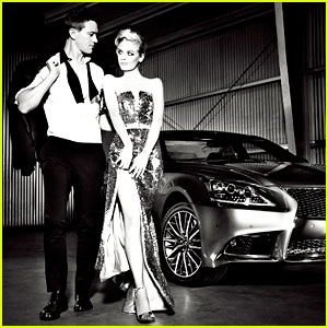 Jaime King & Kyle Newman: Lexus Laws of Attraction Shoot!