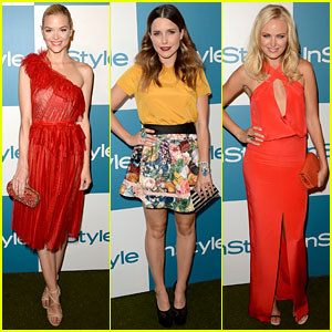 Jaime King & Sophia Bush: InStyle Summer Soiree!
