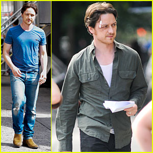 James McAvoy: Bruised & Bandaged for 'Eleanor Rigby'!