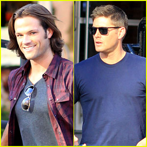 Jared Padalecki & Jensen Ackles: Double Date in Vancouver!