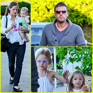 Jennifer Garner & Ben Affleck: Ice Cream with the Kids!