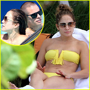 Jennifer Lopez: Bikini Mama in Miami!