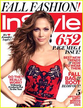 Jennifer Lopez Covers 'InStyle' September 2012