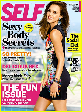 Jessica Alba Covers 'Self' September 2012