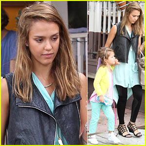 Jessica Alba: 'Bye Bye Brown Hair!'