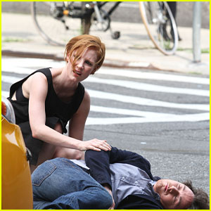 James McAvoy Gets Hit By A Cab In 'The Disappearance of Eleanor Rigby'