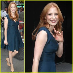 Jessica Chastain: 'GMA' Arrival & 'Lawless' Red Band Trailer!