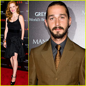 Jessica Chastain & Shia LaBeouf: 'Lawless' Screening!