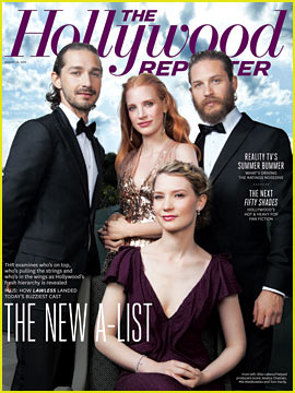 Jessica Chastain, Tom Hardy, & Shia LaBeouf Cover 'THR'