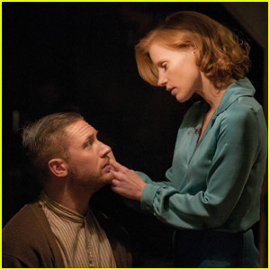 Jessica Chastain & Tom Hardy: New 'Lawless' Stills!