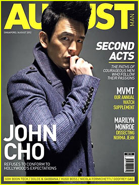 John Cho: August Man Cover!