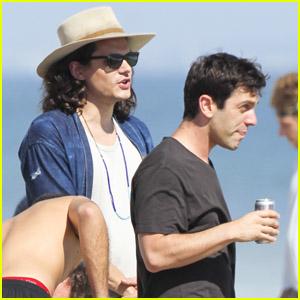 John Mayer & BJ Novak: Beach Party!