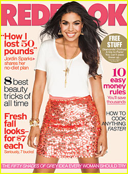 Jordin Sparks: 'Redbook' Magazine Cover Girl