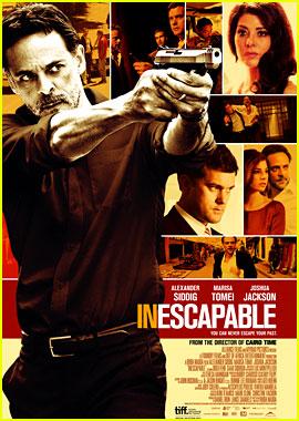 Joshua Jackson: 'Inescapable' Trailer & Poster for TIFF!
