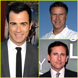 Justin Theroux Directing Will Ferrell-Steve Carell Comedy!