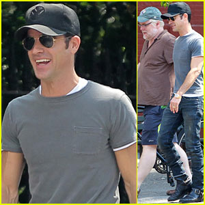 Justin Theroux: Lunch with Philip Seymour Hoffman!