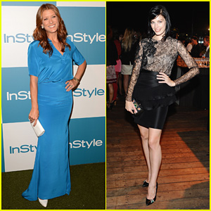 Kate Walsh & Jessica Paré: InStyle Summer Soiree Party!