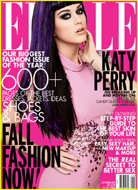 Katy Perry Covers 'Elle' September 2012
