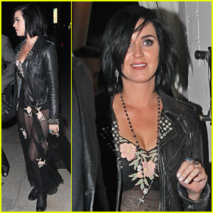 Katy Perry Steps Out After John Mayer Split