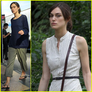 Keira Knightley: Serious on 'Song' Set