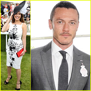 Kelly Brook & Luke Evans: Glorious Goodwood!