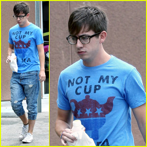 Kevin McHale: Working Hard on 'Glee!'